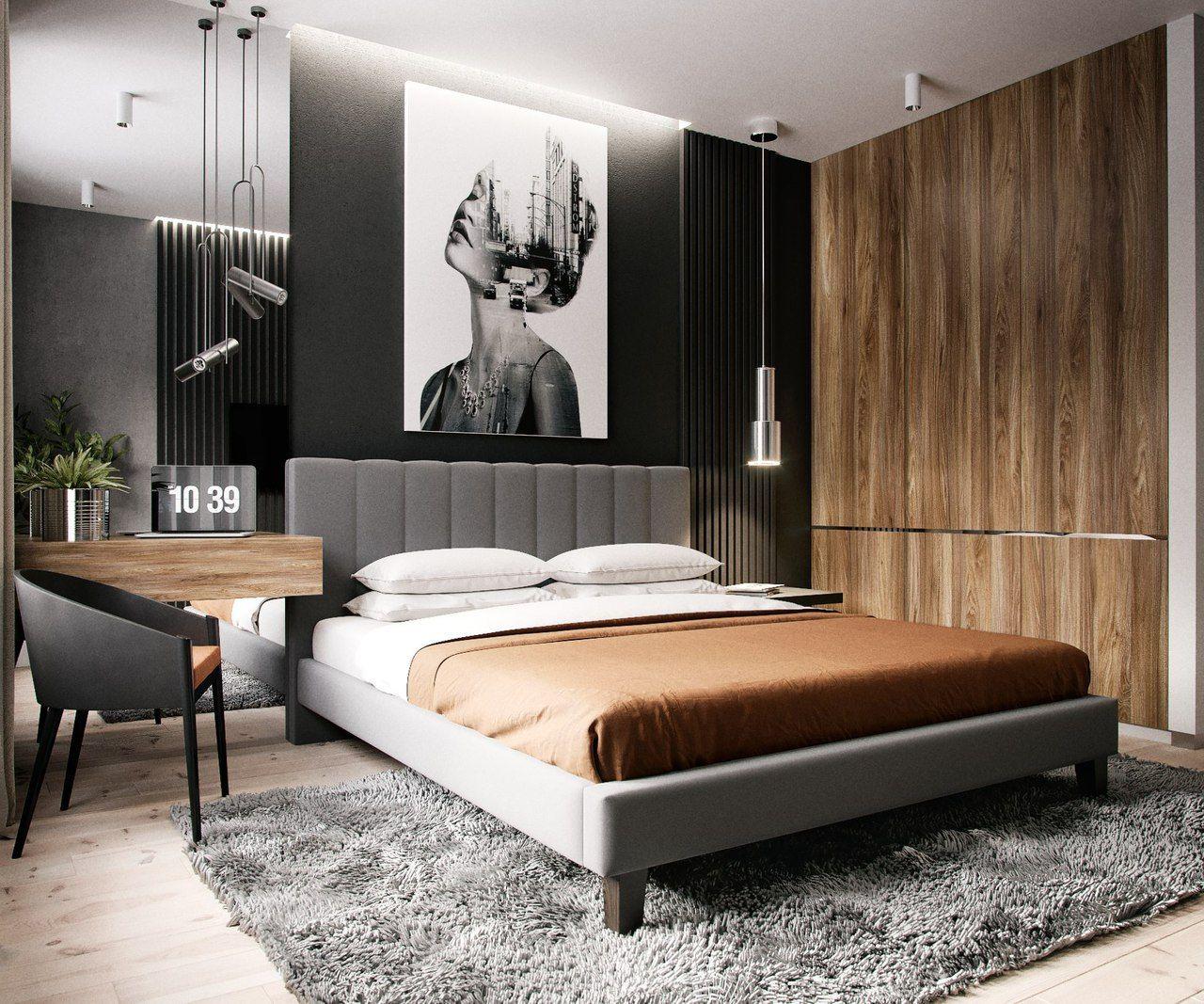 Актуальные дизайнерские решения для спален в 2020 году
